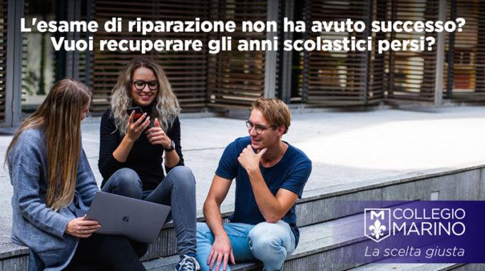 Recupero Anni Scolastici - Collegio Marino Castellamonte